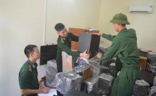 Tin nhanh - Hải Phòng: Thu giữ số lượng lớn hàng điện tử không nguồn gốc