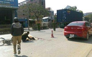 Tin nhanh - Cụ ông 80 tuổi sang đường bị xe container đâm tử vong