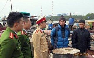 An ninh - Hình sự - Hải Phòng: 3 tàu 'cát tặc' bị bắt giữ
