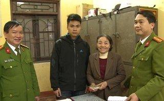 Hồ sơ điều tra - Thái Bình: Chiến sĩ công an trao trả 20 triệu đồng cho người đánh rơi