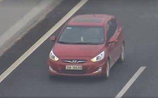 Xa lộ - Clip: Kinh hoàng ô tô đi ngược chiều trên cao tốc HN-HP