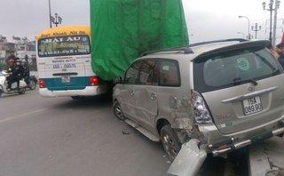 Tin nhanh - Xe tải gây ra tai nạn liên hoàn đã hết hạn đăng kiểm