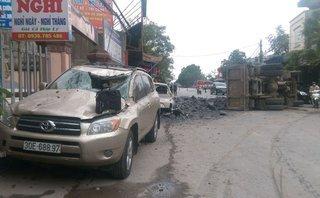 An ninh - Hình sự - Tài xế xe tải bẻ lái cứu 2 nữ sinh nghỉ việc sau khi đền bù cho chủ xe 7 chỗ