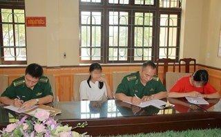 An ninh - Hình sự - 2 giờ giải cứu thành công 2 thiếu nữ bị lừa bán sang Trung Quốc