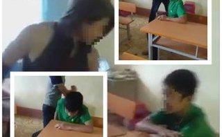 Pháp luật - Làm rõ vụ nam sinh cấp 2 bị đánh hội đồng bằng tuýp sắt trong lớp học