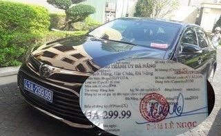 Pháp luật - Thông tin về chiếc xe do doanh nghiệp tặng được Bí thư Đà Nẵng sử dụng