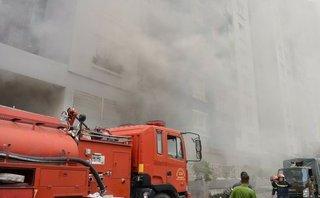 Tin nhanh - Chung cư Carina Plaza lại cháy, dân sợ không dám lên nhà