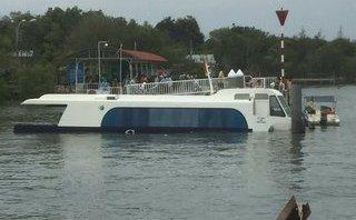 Tin nhanh -  Vụ chìm tàu cao tốc chở 42 khách: Lỗ thủng dưới đáy 'tố' nguyên nhân chìm tàu?