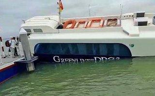 Tin nhanh - TP.HCM: Nguyên nhân bước đầu khiến tàu cao tốc bị chìm