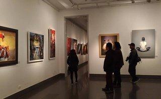 Văn hoá - Triển lãm 'Khát vọng' - sắc màu mới trong lĩnh vực hội họa