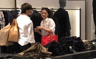 Ngôi sao - Rò rỉ hình ảnh Soobin Hoàng Sơn cùng 'bạn gái tin đồn' đi mua sắm ngày Valentine