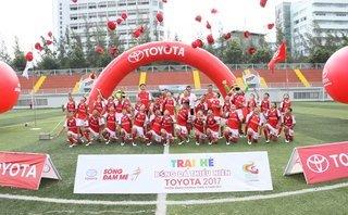 Xe++ - Trại hè bóng đá thiếu niên Toyota: Khuyến khích tài năng bóng đá trẻ