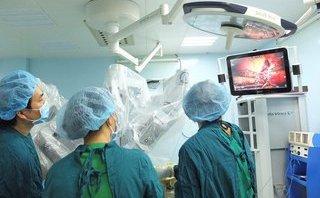 Chính trị - Xã hội - Cắt u phổi không cần mở lồng ngực bằng robot