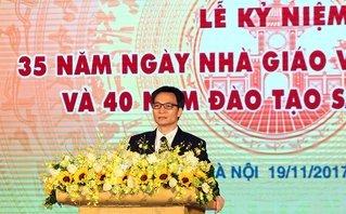 Tin tức - Chính trị - Phó Thủ tướng Vũ Đức Đam dự lễ kỷ niệm ngày Nhà giáo Việt Nam
