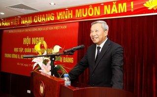 Tin tức - Chính trị -  Hội Luật gia Việt Nam học tập, triển khai thực hiện Nghị quyết Hội nghị Trung ương sáu