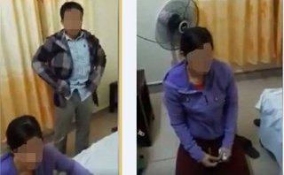 Tin nhanh - Đang làm rõ clip Trưởng công an xã bị bắt quả tang khi 'tâm sự' cùng bạn gái trong nhà nghỉ