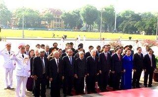 Chính trị - Lãnh đạo Đảng, Nhà nước vào Lăng viếng Chủ tịch Hồ Chí Minh