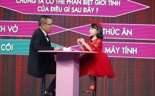 Giải trí - Mặt trời bé con: Cô bé 7 tuổi được MC Lại Văn Sâm khen là 'biết tuốt'