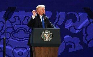 Mới- nóng - Clip: Tổng thống Trump nhắc đến Hai Bà Trưng trong bài phát biểu tại APEC