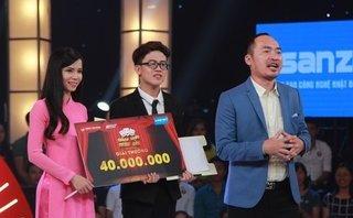 Giải trí - Đòi 'triệt sản' Tiến Luật, cặp đôi ẵm 40 triệu ở Thách thức danh hài
