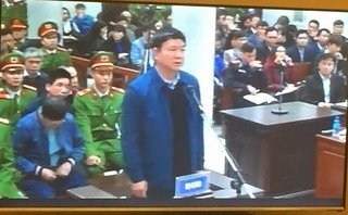 Mới- nóng - Clip: Tòa tuyên án đối với bị cáo Đinh La Thăng và đồng phạm