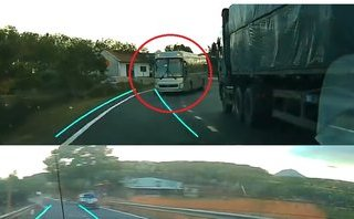 Xa lộ - Clip: Bài học xương máu cho các tài xế ô tô thiếu cẩn thận