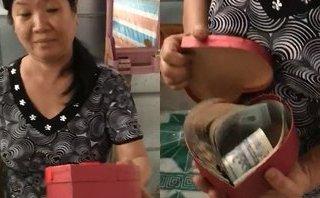 Mới- nóng - Mẹ 'đứng hình' với số tiền 45 triệu trong hộp quà 8/3 con gái tặng