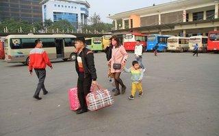 Xã hội - Hà Nội: Bến xe vắng lạ ngày làm việc cuối năm trước kỳ nghỉ Tết