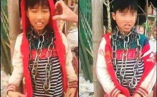 Giáo dục - Diễn biến bất ngờ vụ bé trai lớp 5 bị xích quấn quanh cổ ở Thanh Hóa