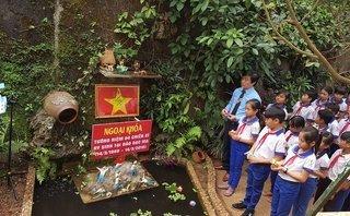 Chính trị - Quảng Trị: Xây mô hình đảo Gạc Ma cho học sinh tưởng niệm liệt sỹ tại trường