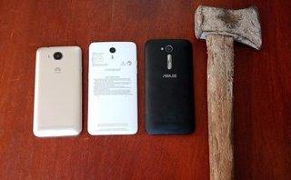 """An ninh - Hình sự - Quảng Bình: Bắt nhóm trộm """"nhí"""" đục tường lấy 3 điện thoại"""