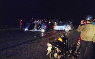 Xã hội - Tai nạn liên hoàn khiến 1 công an xã tử vong và 5 người bị thương nặng