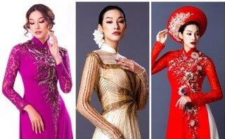 Ngôi sao - Lilly Nguyễn đẹp quý phái trong áo dài cưới truyền thống