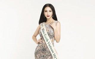 """Giải trí - Á hậu Hà Thu đại diện Việt Nam thi """"Hoa hậu Trái đất 2017"""""""
