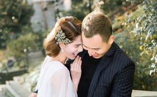 Giải trí - Ngắm ảnh cưới siêu nhắng của Ngọc Trinh và 'ông bầu' Vũ Khắc Tiệp