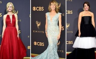 Giải trí - Dàn sao 'xúng xính' trên thảm đỏ lễ trao giải 'Emmy 2017'