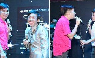 Giải trí - Hoài Linh, Phương Thanh say sưa tập hát cùng Quang Hà