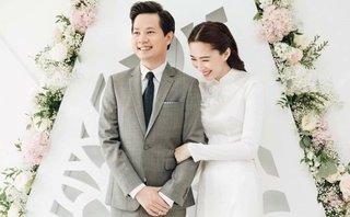 Giải trí - Hoa hậu Đặng Thu Thảo rạng ngời trong lễ ăn hỏi với chồng đại gia