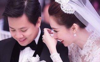 Giải trí - 'Tan chảy' câu nói ngôn tình trong đám cưới Hoa hậu Thu Thảo