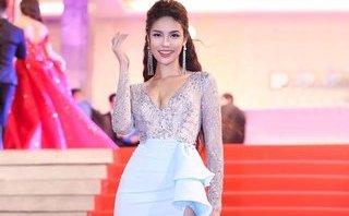 Ngôi sao - Lan Khuê chia sẻ về pha té ghế thót tim trên sóng trực tiếp Hoa hậu Đại dương