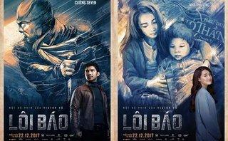 Ngôi sao - Nhã Phương, Cường Seven khác lạ trong poster của Lôi Báo
