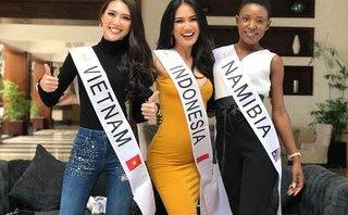 """Ngôi sao - Tường Linh """"nhận diện đối thủ"""" tại Hoa hậu Liên lục địa 2017"""