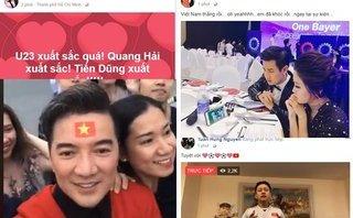 Ngôi sao - U23 Việt Nam chiến thắng vang dội: Sao Việt khóc vì sung sướng