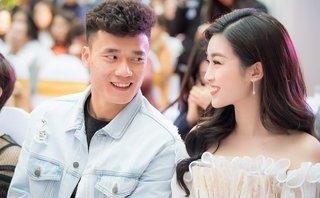 """Ngôi sao - Hoa hậu Đỗ Mỹ Linh: """"Bùi Tiến Dũng ngại ngùng rất đáng yêu"""""""