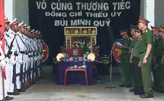 Tin nhanh - Chung tay giúp đỡ gia đình chiến sĩ công an hy sinh khi làm nhiệm vụ