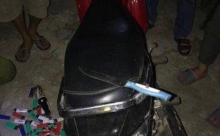 An ninh - Hình sự - Manh mối về hai tên cướp từ chiếc xe máy tại hiện trường