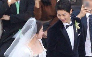 Giải trí - Clip: Song Joong Ki, Song Hye Kyo cười rạng rỡ trong lễ cưới