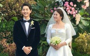 Giải trí - Clip: Màn tung hoa cưới theo cách 'không giống ai' của Song Hye Kyo