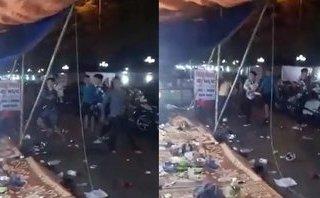 Mới- nóng - Clip: Hàng chục thanh niên hỗn chiến trong đêm ở Hải Phòng