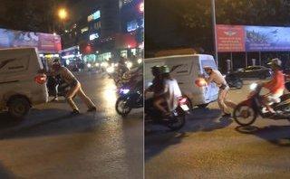 Xa lộ - Clip: Ô tô chết máy giữa đường và hành động đẹp của chiến sĩ CSGT